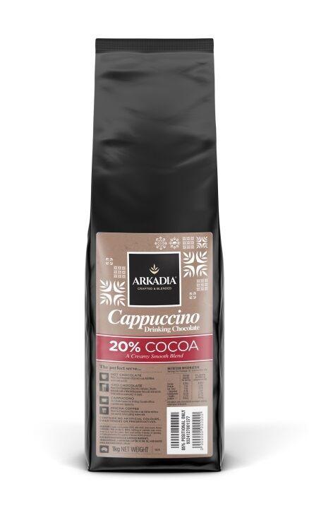 Drinking chocolate powder