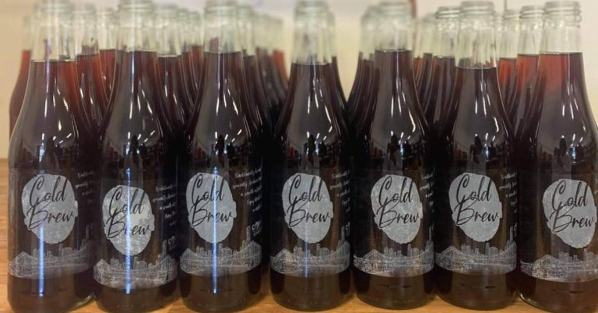Cold drip coffee bottles